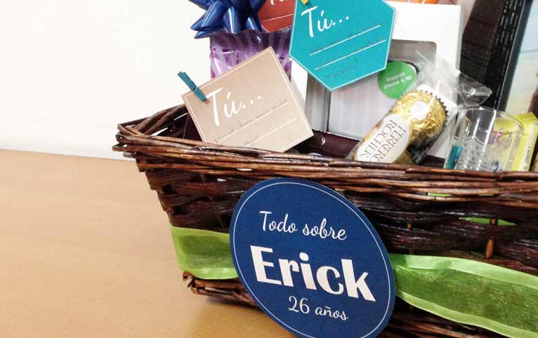 Ideas originales regalar Cesta