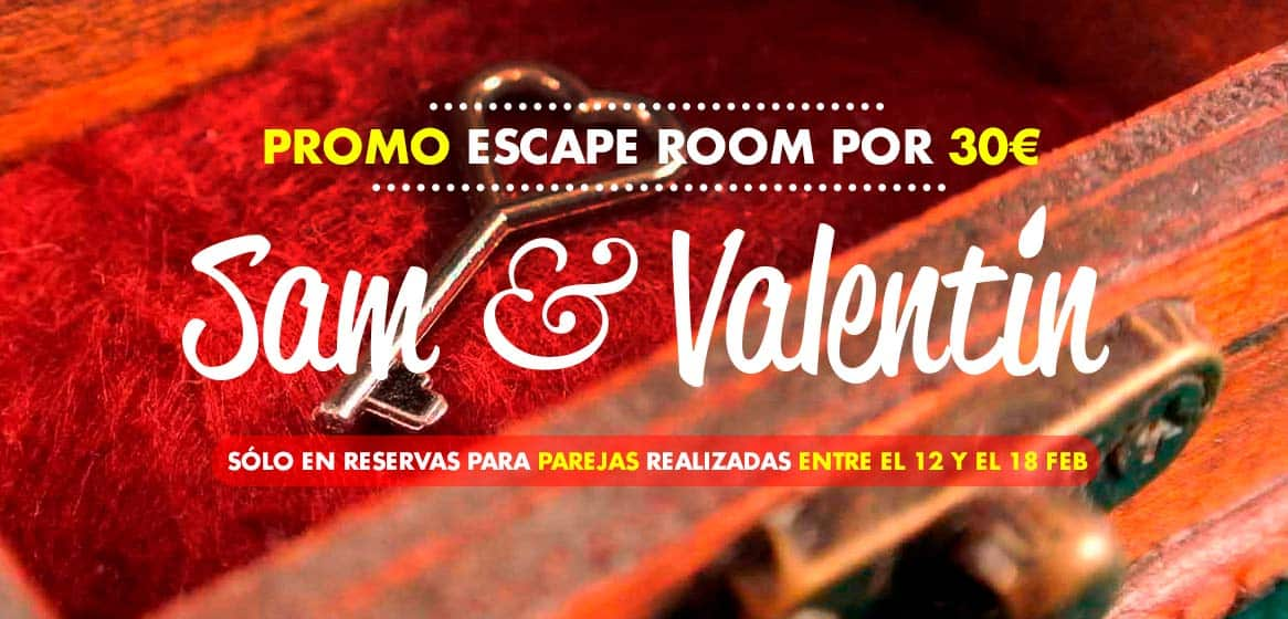 San Valentín en Escape Room